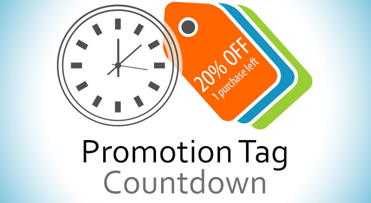 Promotion Tag Countdown