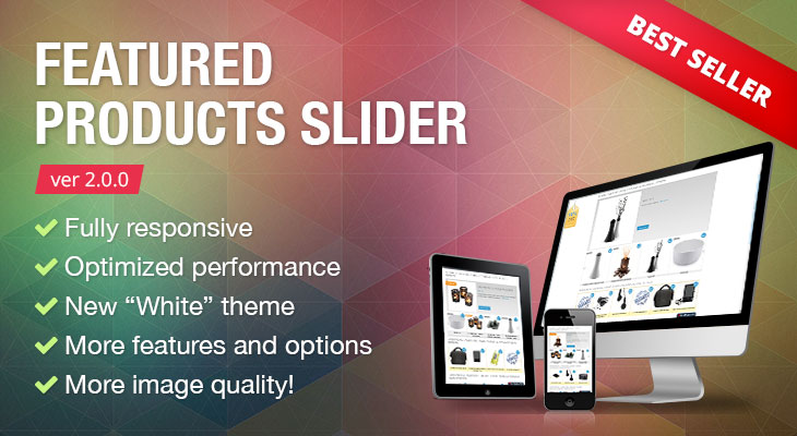 Magento Featured Products Slider 2.0.0 release